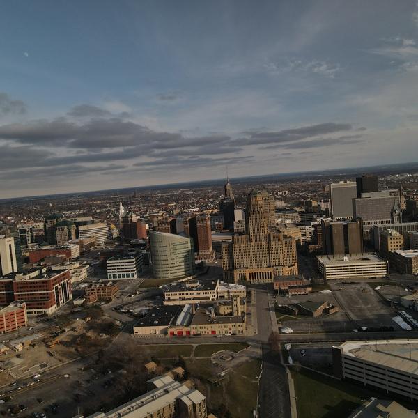 Buffalo City Hall Centered