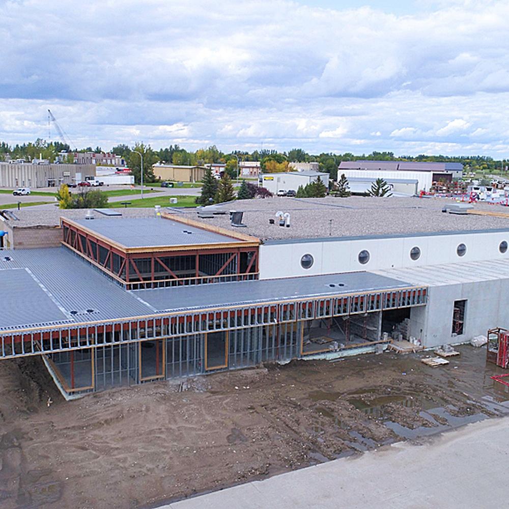 Cities Area Transit Renovation Grand Forks North Dakota