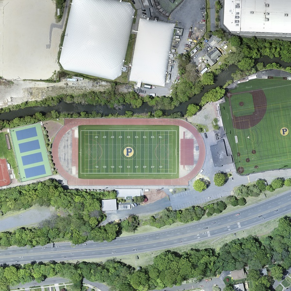 Stitched Images of Playing Fields