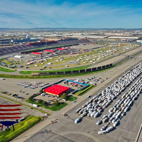 NASCAR - Auto Club Speedway
