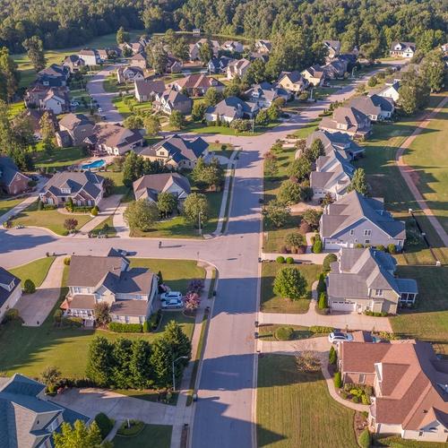 Residential Neighborhood View