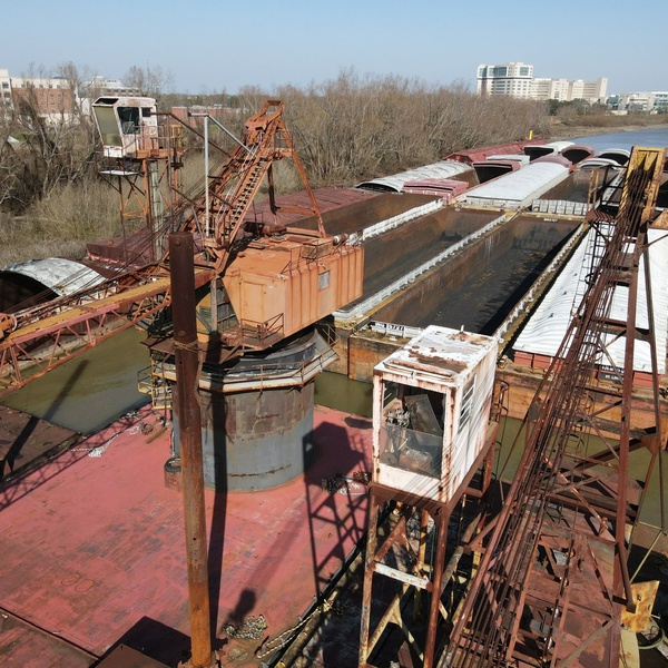 Barge inspection