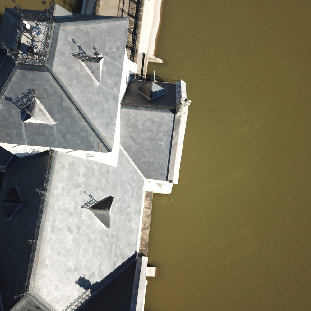 Roof Inspection Low altitude