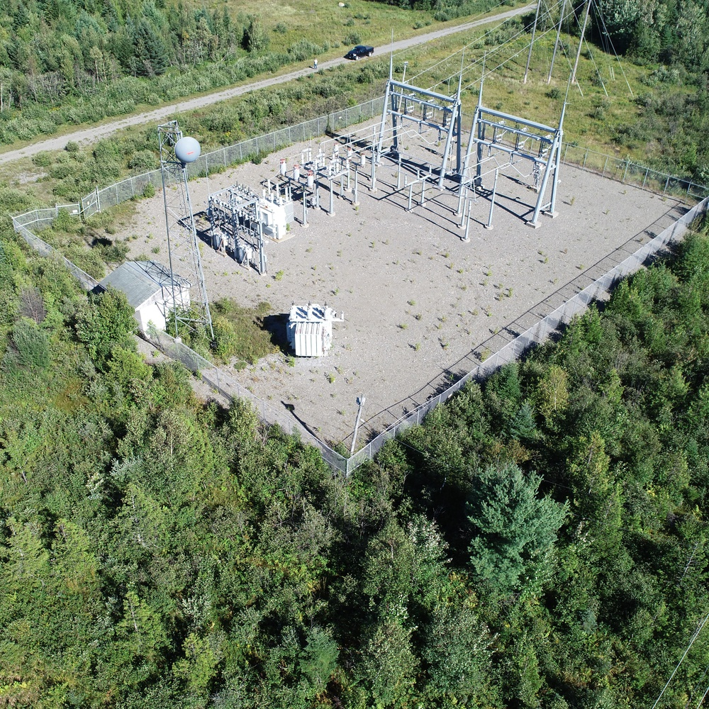 Sample substation