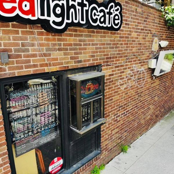 Redlight Cafe Drone shot