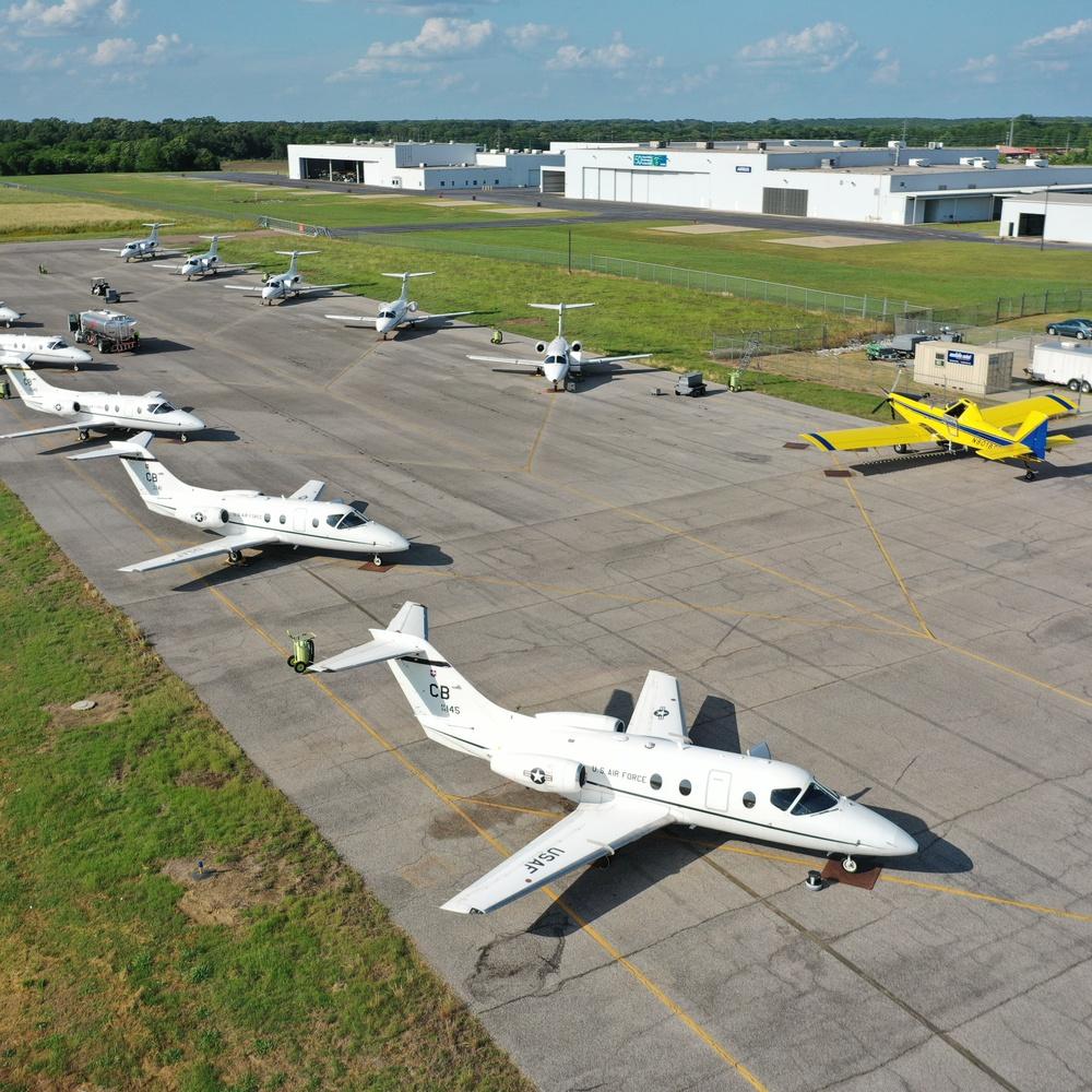 Air Force Aircraft at Airport
