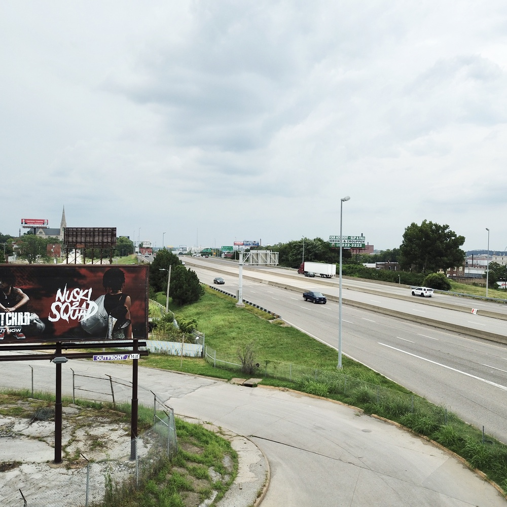 New Sign Over i-70