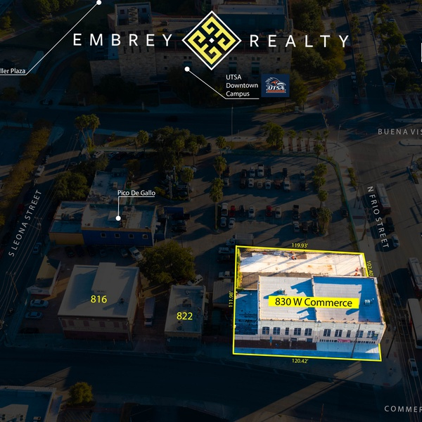 Example of Overlay for Property Information and Surroundings