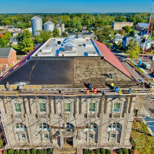 Courthouse roof repairs