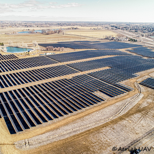 Solar Site from Above