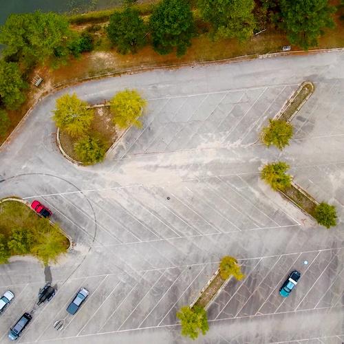 Falls Lake Parking