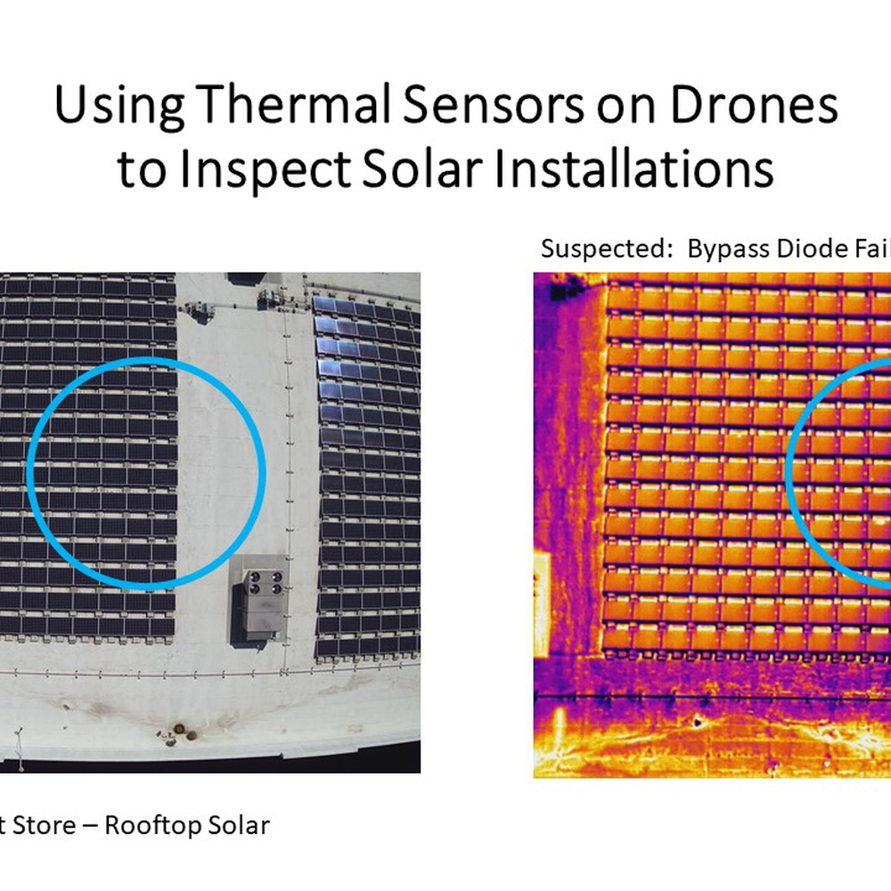 Thermal Inspection of Solar Module