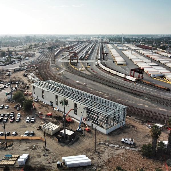 Metrolink Maintenance facility San Bernardino Rail Yard