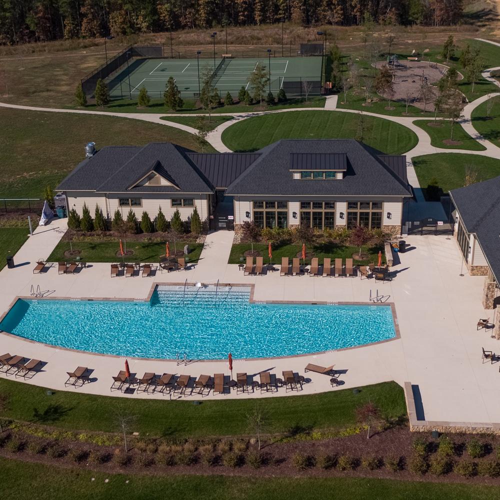 Residential Community Club House Pool