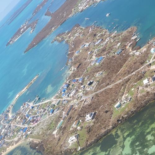 Bahamas post Hurricane Dorian survey