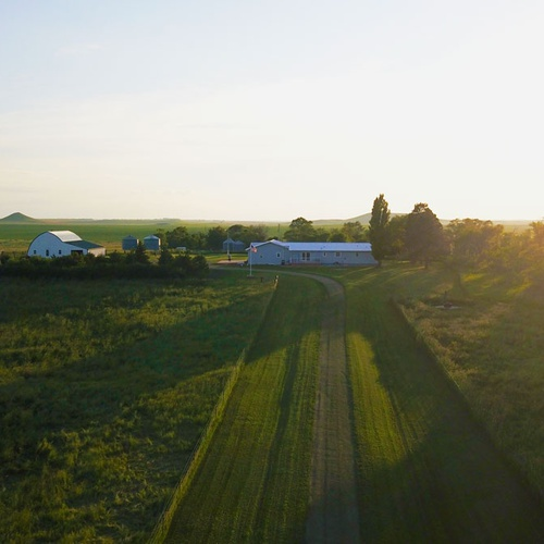 Image of my in-laws farm in Glencross South Dakota