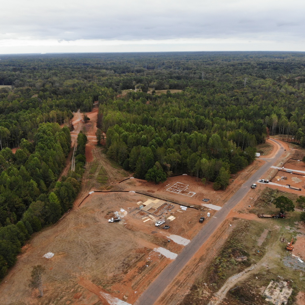 Sanders Landing construction project