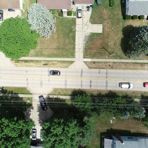 Preconstruction Aerials for Roadway resurfacing