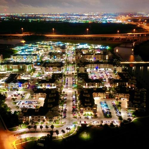 Hebron 121 Station Property Twilight shoot Dallas TX
