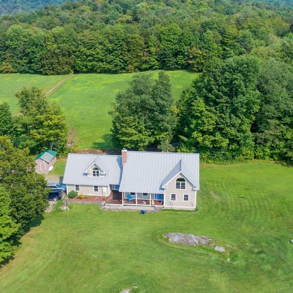 Real Estate Drone Photo in VT
