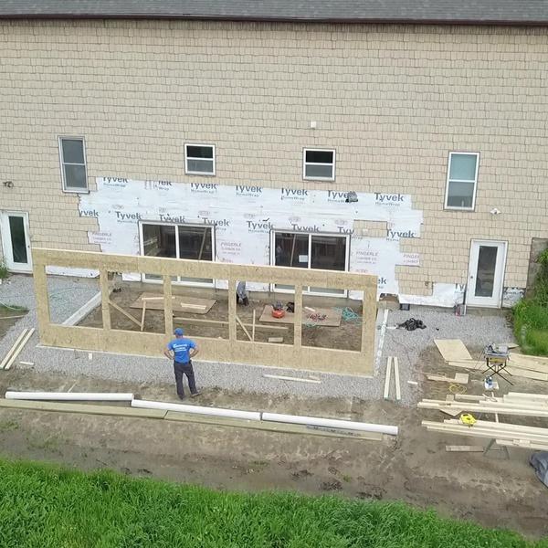 Construcation Addition Progress