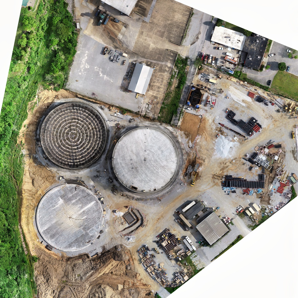 Moccasin Bend Sewage Treatment Plant Chattanooga Tennessee (full size orthomosaic available)