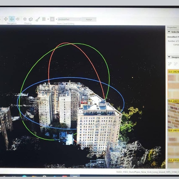 Facade Inspections/Mapping/Survey