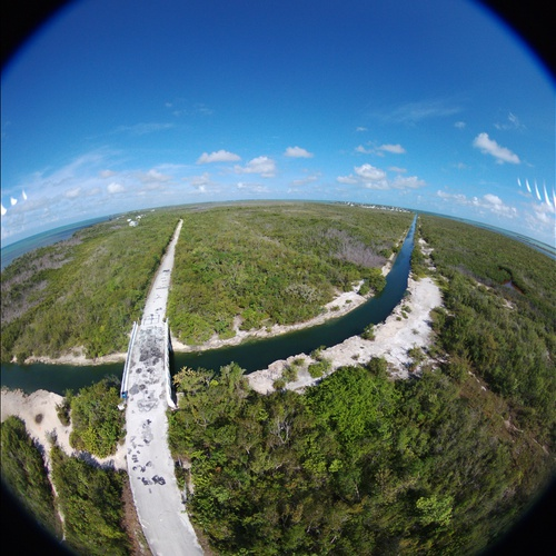 Sugarloaf Key Jumping Bridge 180°