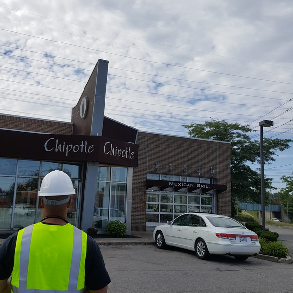 Chipotle Aerial Inspection and Building Mapping