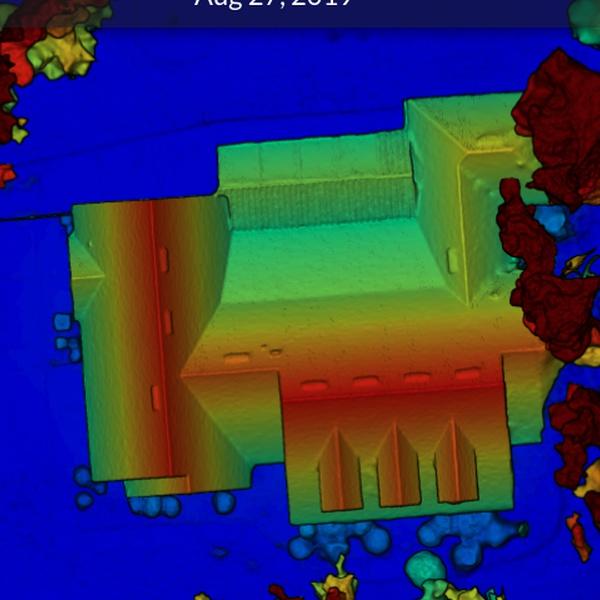 Gainesville, FL Property Elevation Map