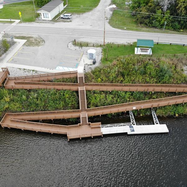 Edenville Township - Dock