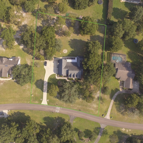 Gainesville, FL Property Aerial Demarcation