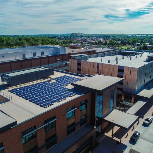 Boulder Community Health Solar Array - Namaste Solar