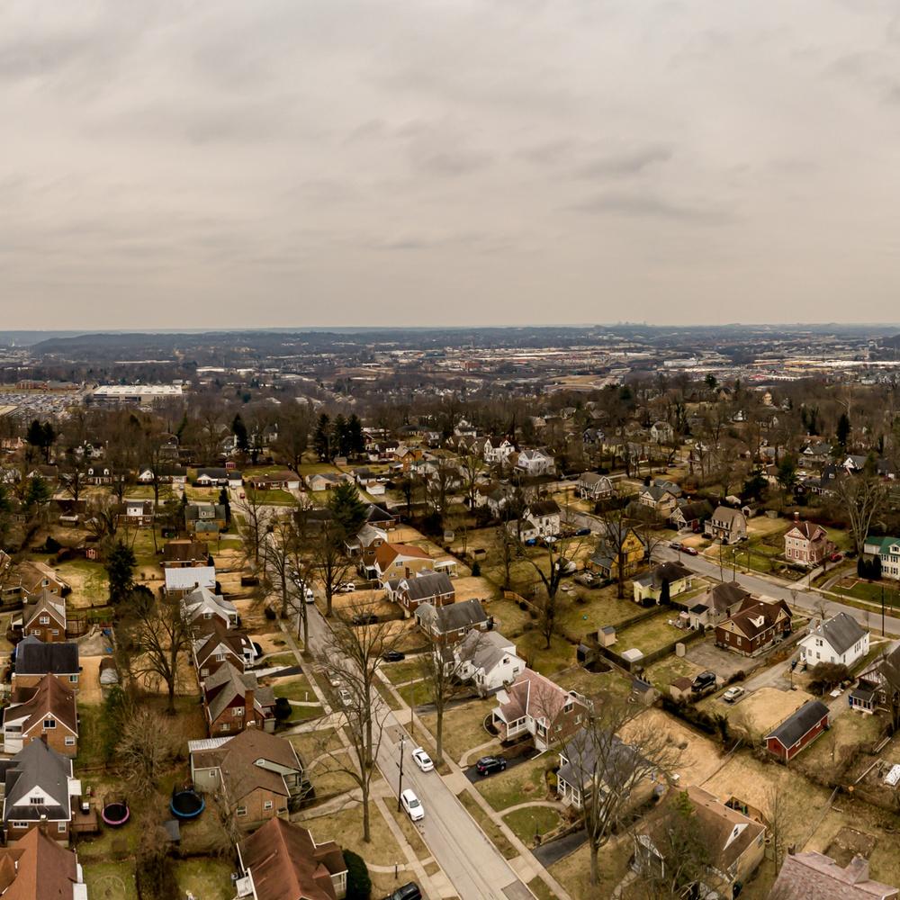 Panorama of neighborhood