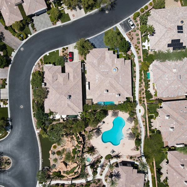 Aerial Residential Photo