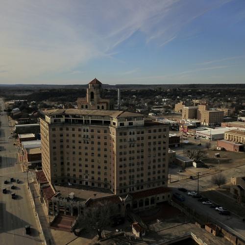 Baker Hotel Mineral Wells Texas