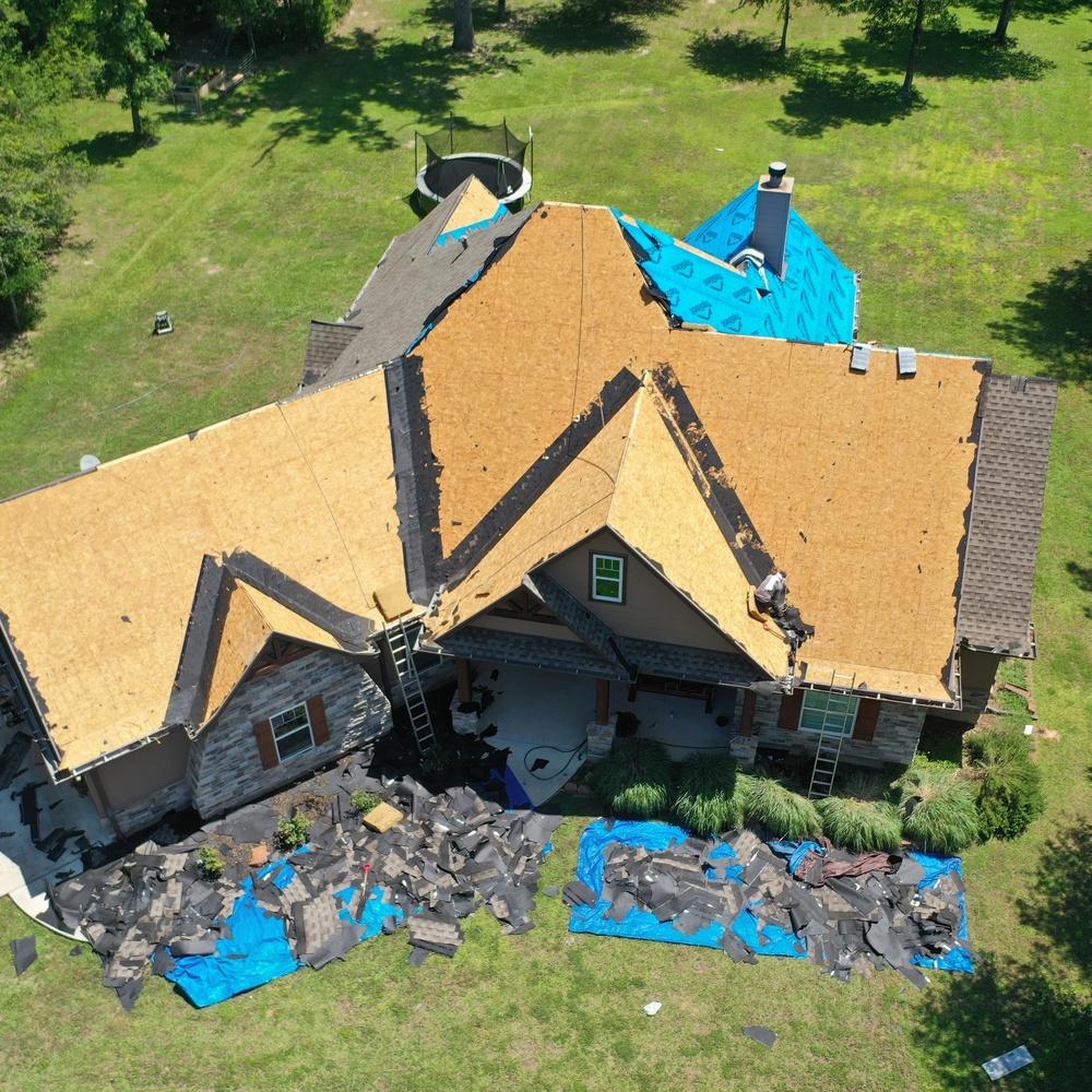 Roofing Underway