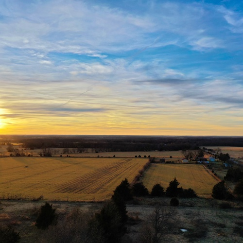Cedar County Sunset