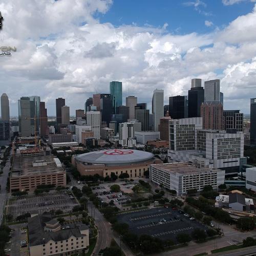 Houston Skyline (Toyota Center)