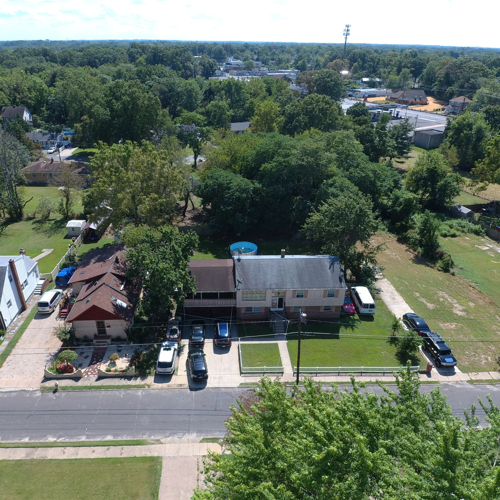 Residential aerial real estate photo