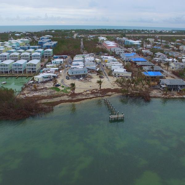 Hurricane Damages Keys