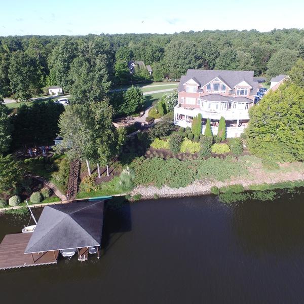 waterfront lake house