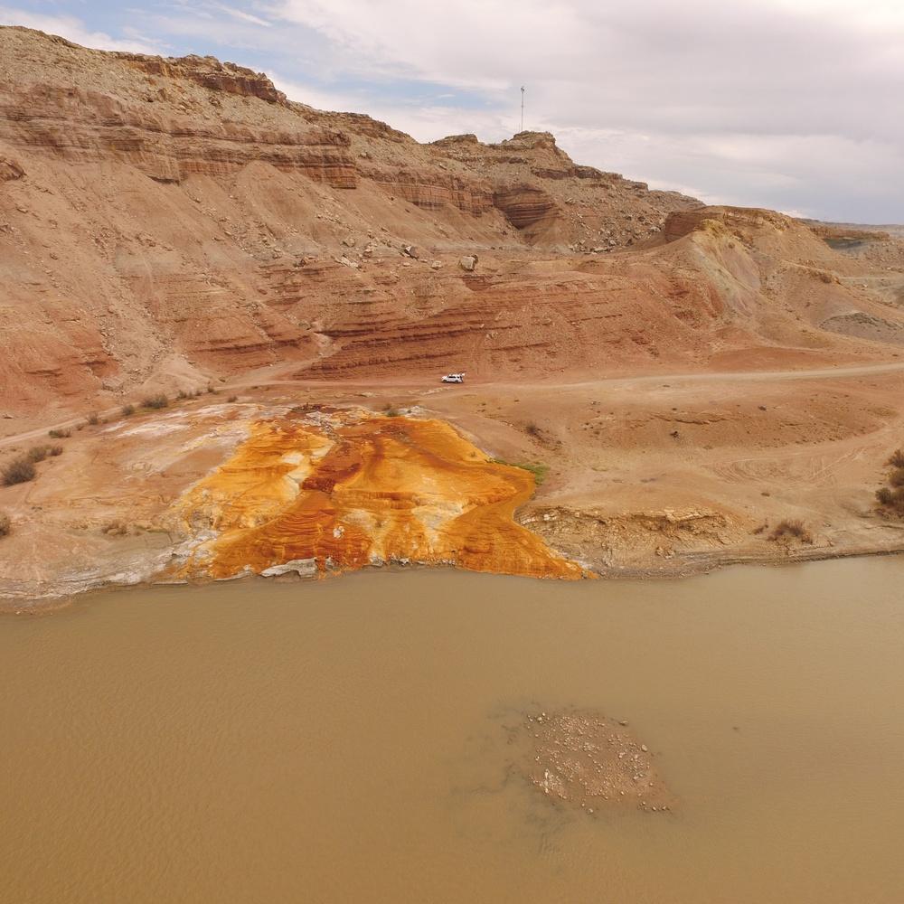 Green River Utah Geyser