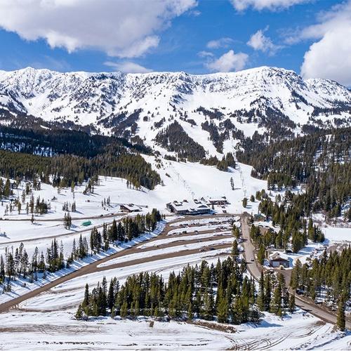 Bridger Bowl Aerial Photograph