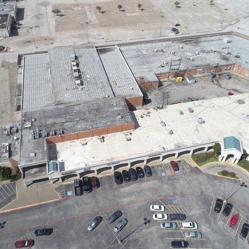 small mall irving tx, roof inspection