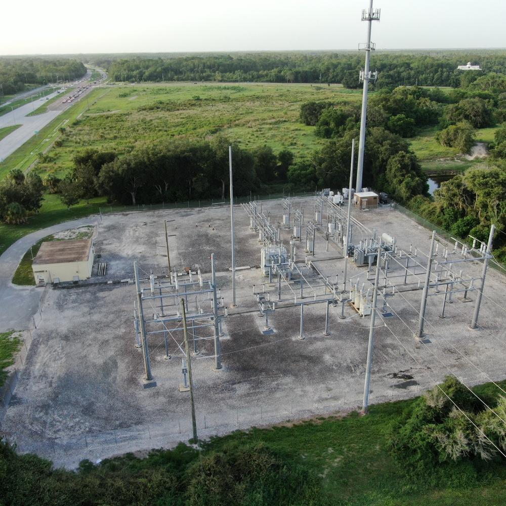 Substation Post Transformer Fire Inspection.
