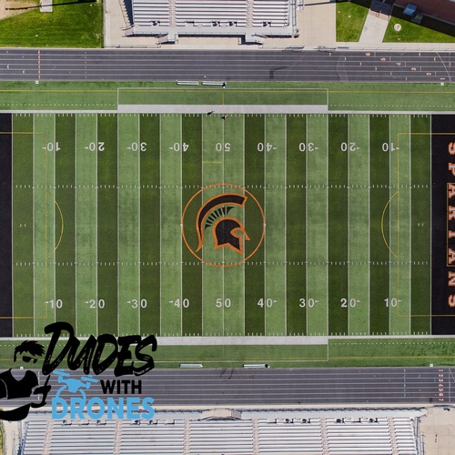 Local High School Football Field