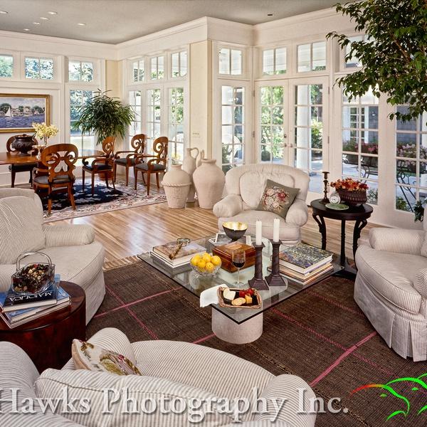 Elegant Sitting/Dining room