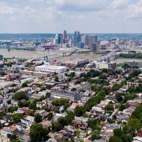 View North Toward Cincinnati