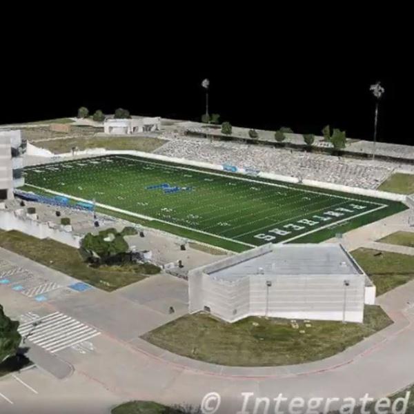 High School Stadium 3d Model (3)